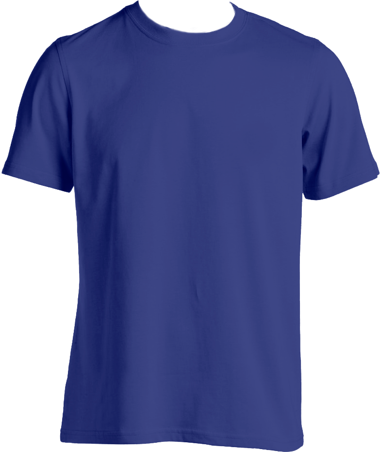 Blue Tshirt PNG-PlusPNG.com-783 - Blue Tshirt PNG