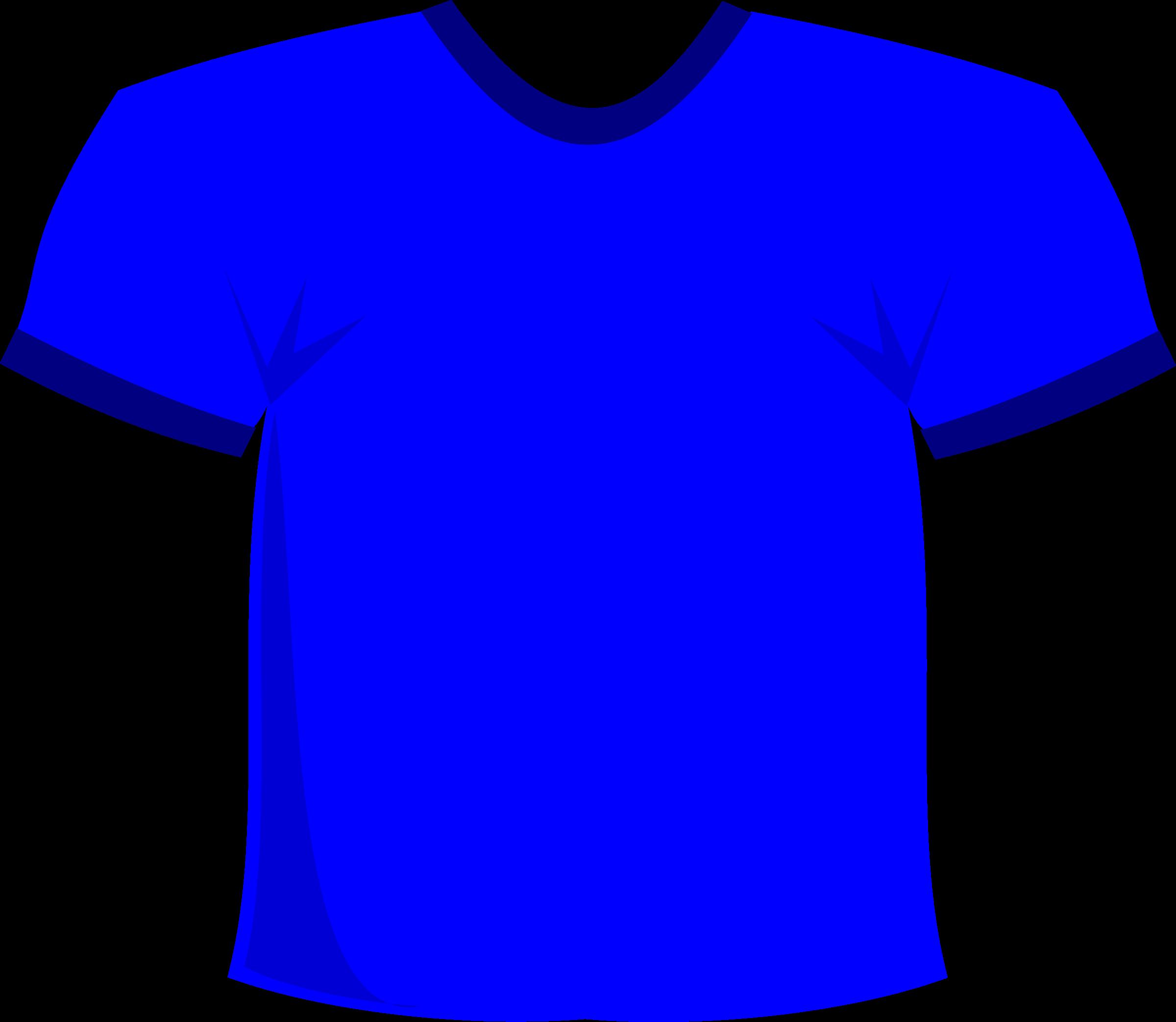 BIG IMAGE (PNG) - Blue Tshirt PNG