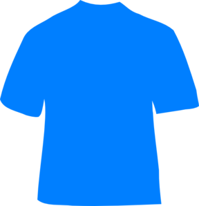 Blue T-shirt PNG images 288 x 298 px - Blue Tshirt PNG