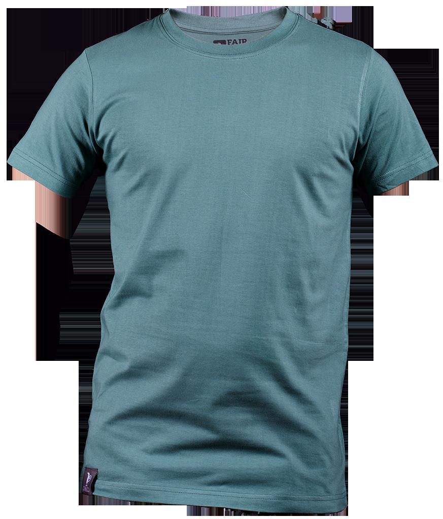 Green T-Shirt M - Blue Tshirt PNG