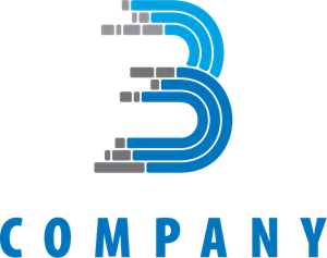 B Logo Template. Format: EPS - Bo Logo Vector PNG