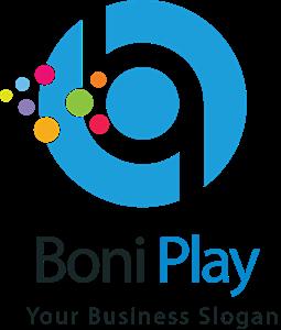 Blue letter b Logo Vector - Bo Logo Vector PNG