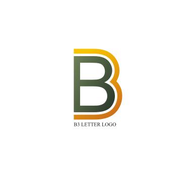 Logo Design B B 3 Letter Logo Design Download Vector Logos Free Download  Free - Bo Logo Vector PNG