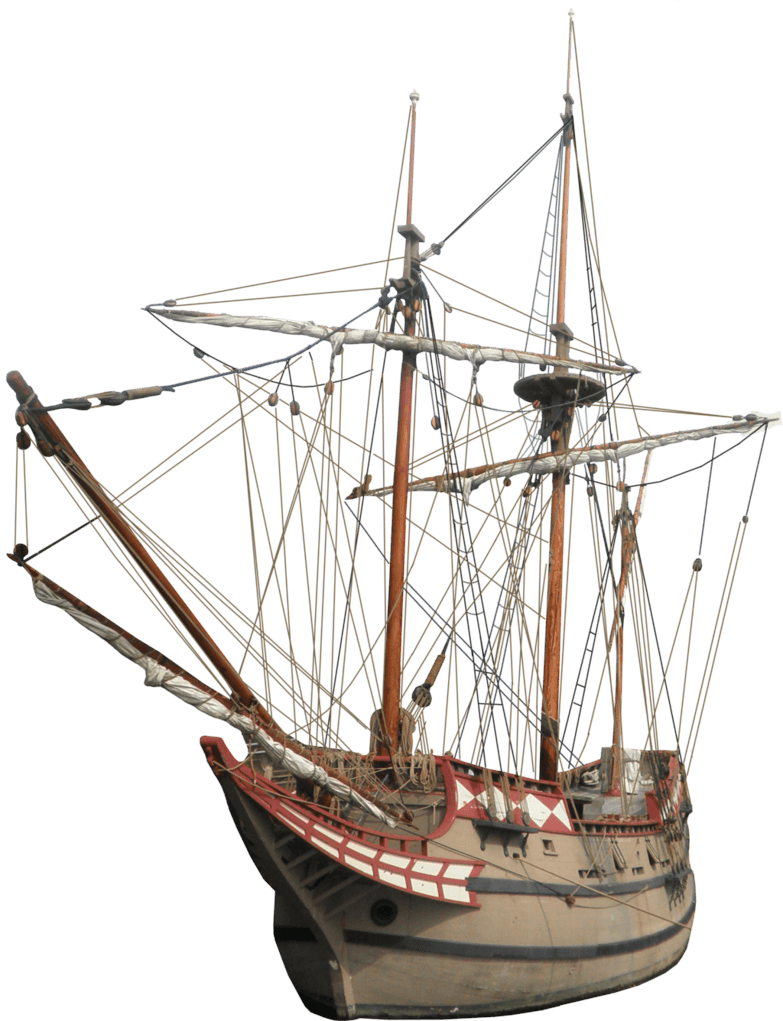 Old Sailing Ship - Boat Ship PNG
