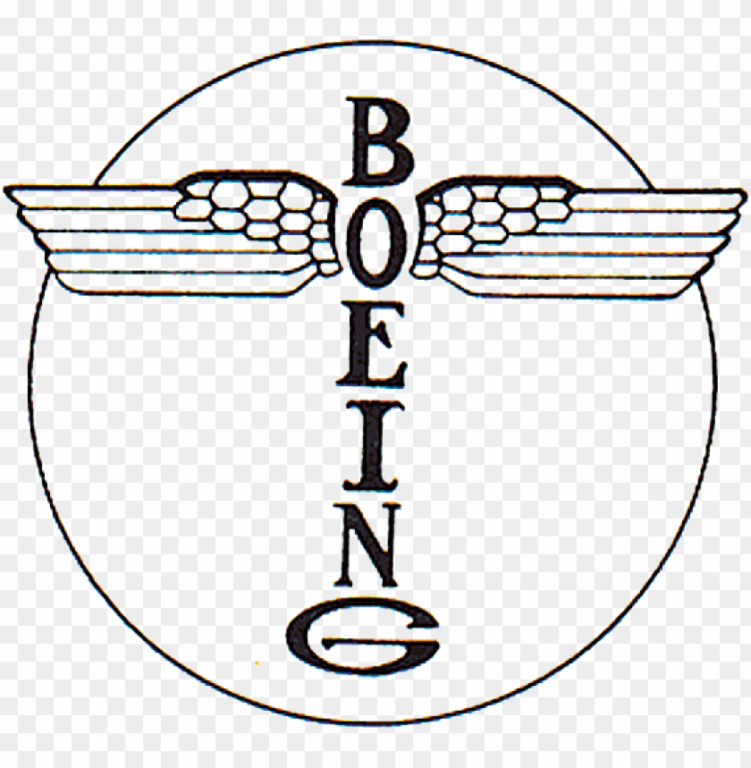 Boeing - Boeing Logo 1916 Png Image With Transparent Background Pluspng.com  - Boeing Logo PNG