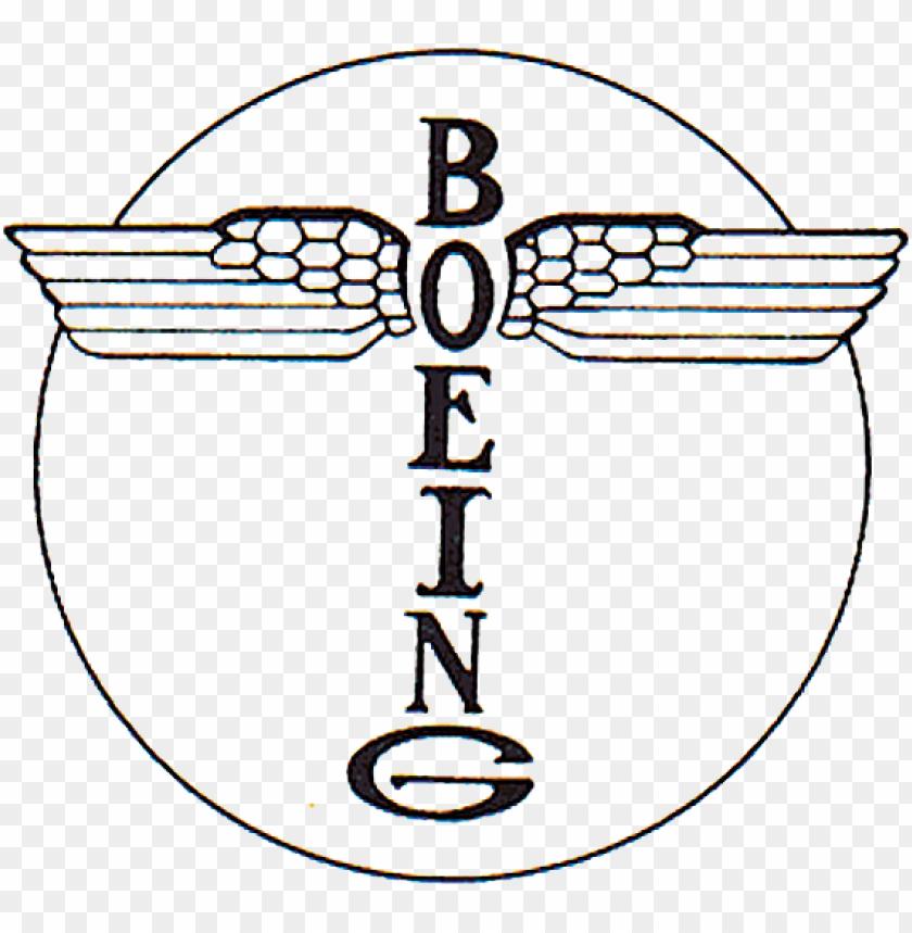 Boeing - Boeing Logo 1916 Png