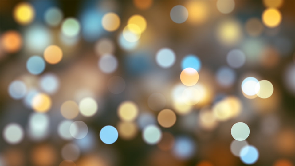 Bokeh, Light, Xmas, Abstract, Background, Wallpaper - Bokeh PNG