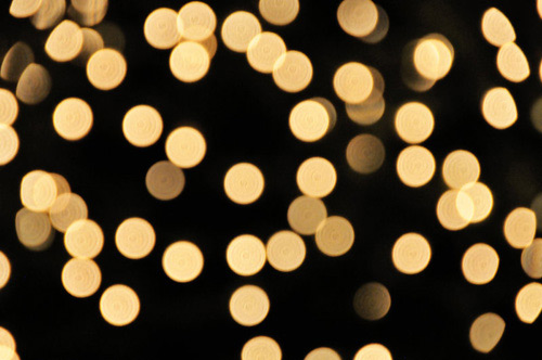 Bokeh, Light, Xmas, Abstract,
