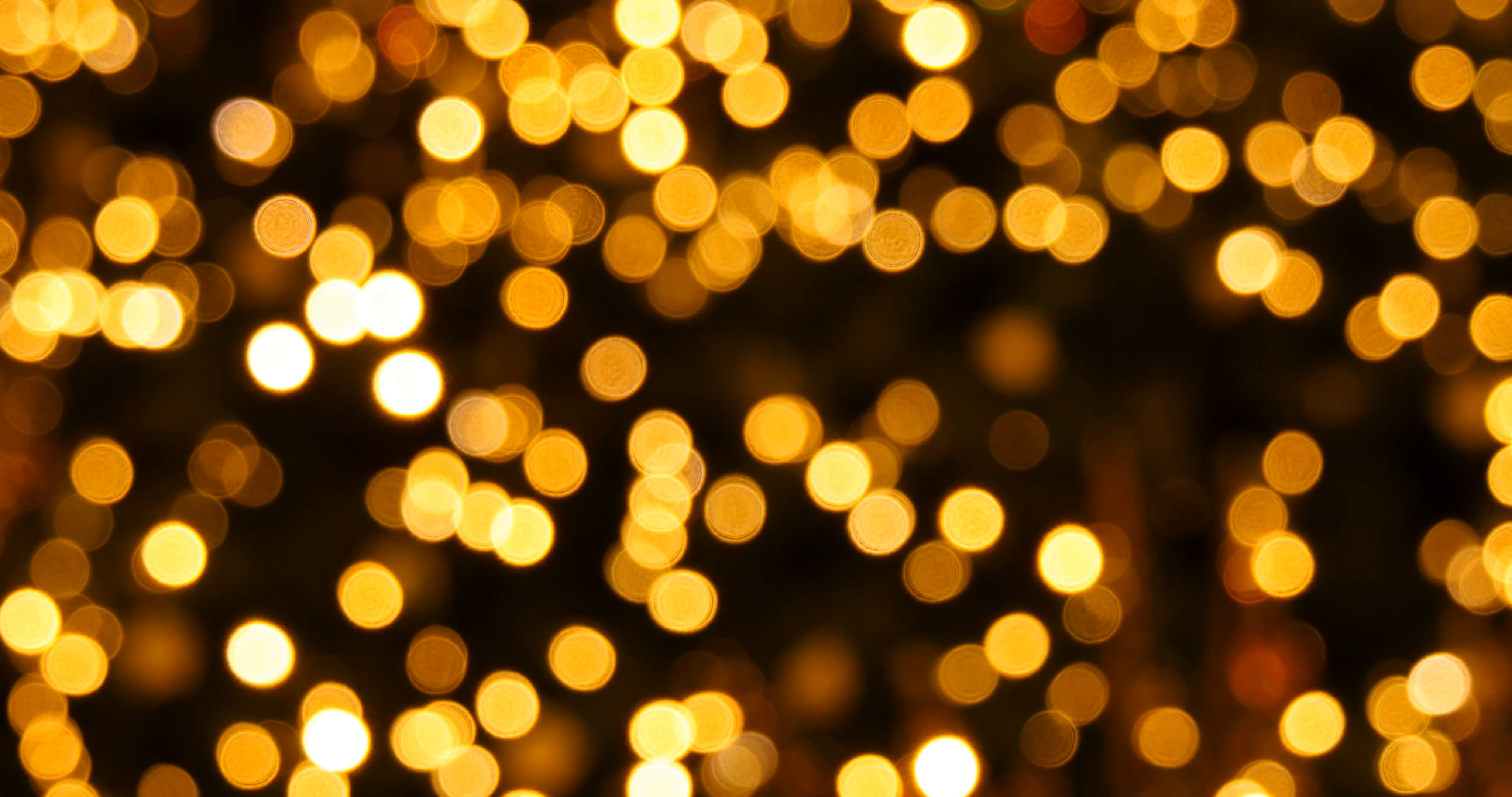 Yellow Bokeh Lights Christmas Background Stock Video Footage - VideoBlocks - Bokeh PNG