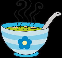 Bol de soupe aux légumes très chaud - Bol De Soupe PNG