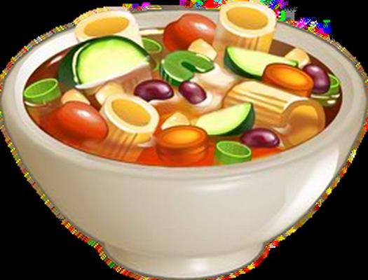 Bol de soupe minestrone : dessin couleur - Bol De Soupe PNG