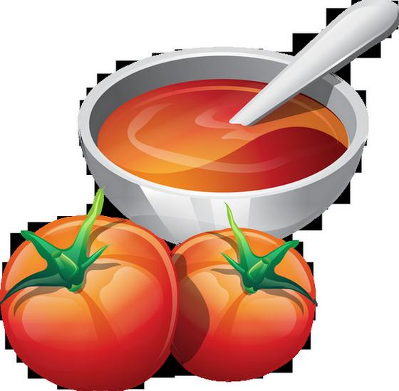 Dessin : bol de soupe à la tomate - Bol De Soupe PNG
