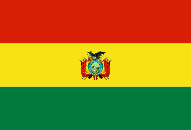 Bandera-de-bolivia.png PlusPng.com  - Bolivia PNG