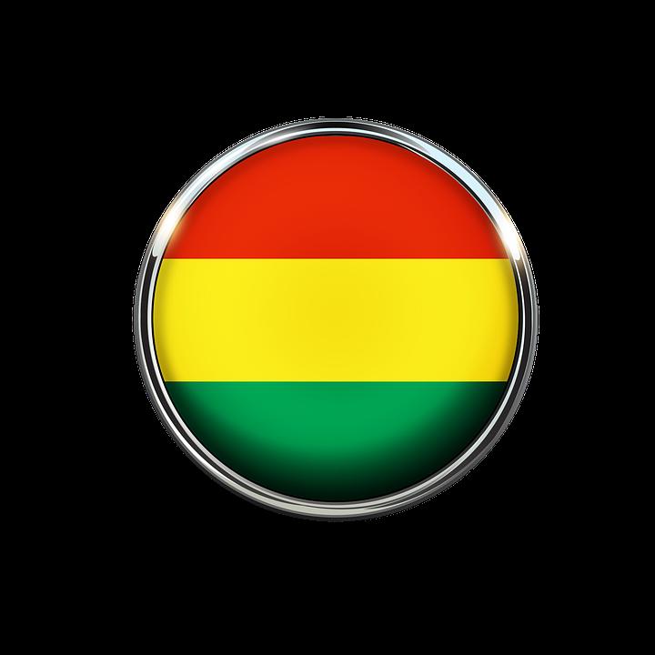 Bolivia, Flag, Circle, Screen Saver - Bolivia PNG