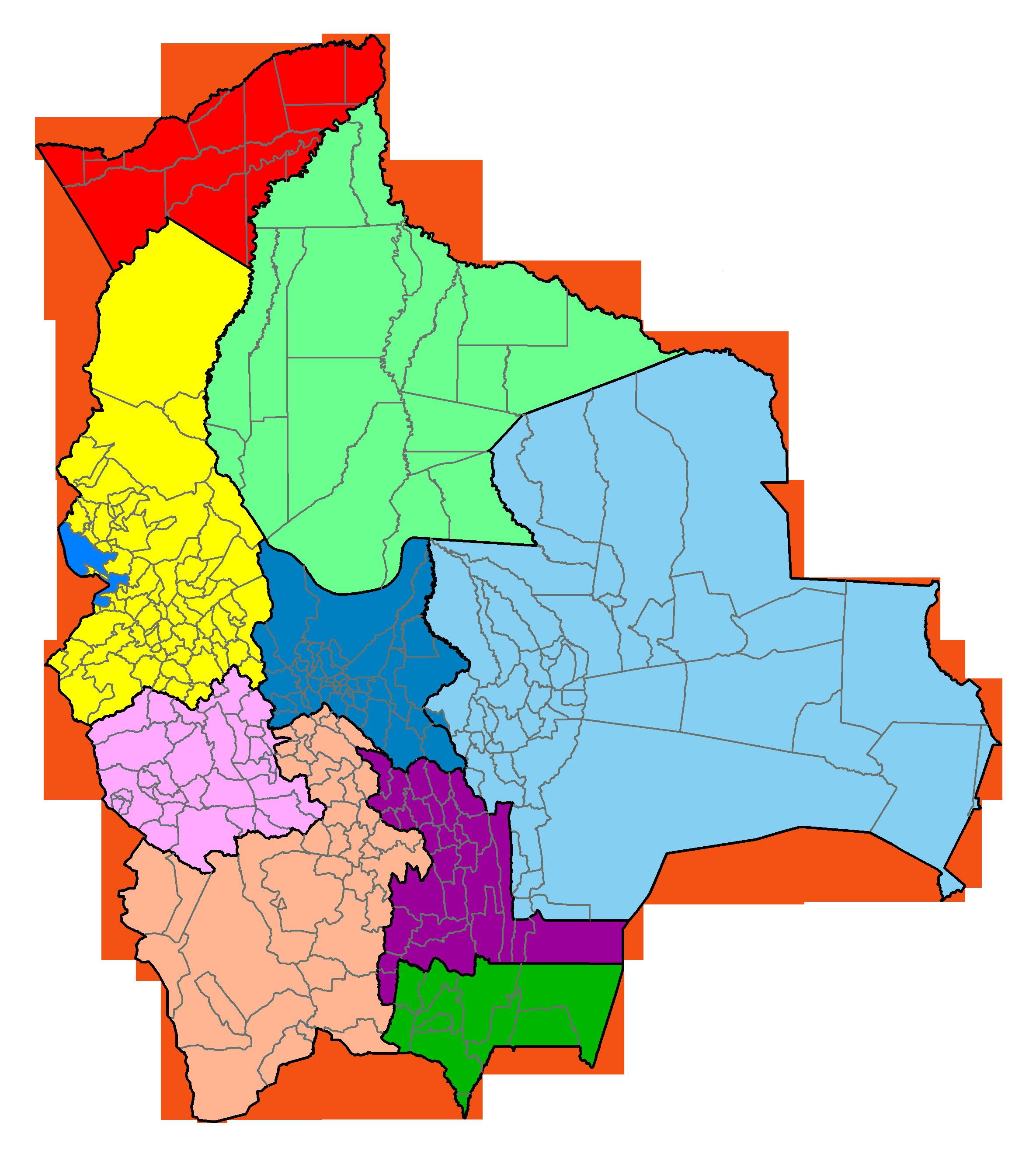 File:Bolivia division.png - Bolivia PNG