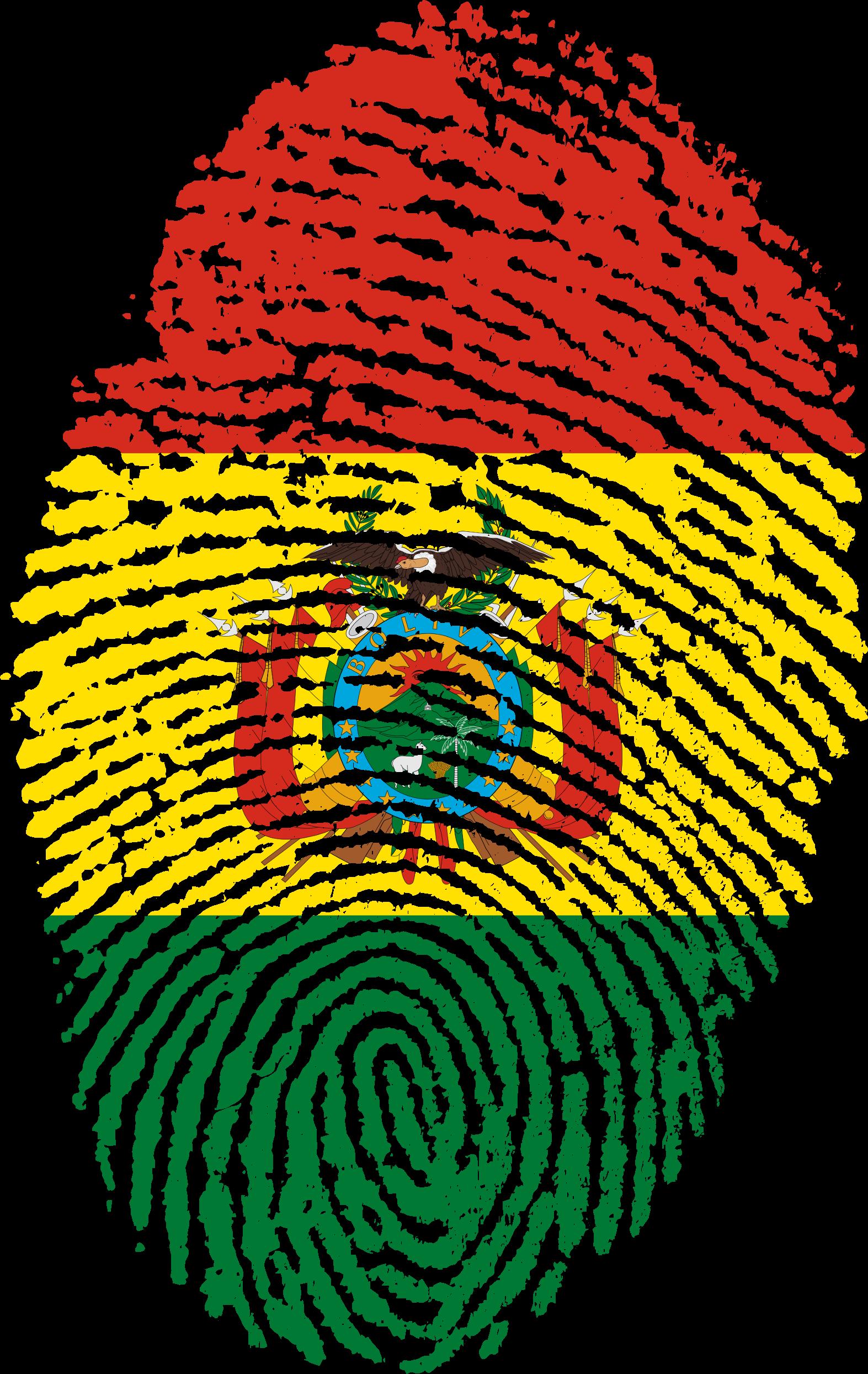 View Original: bolivia-flag-fingerprint-country-654236.png (1573x2488) - Bolivia PNG