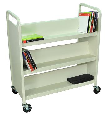 Big 6 Shelf Library Book Cart - Reviews - Book Cart PNG