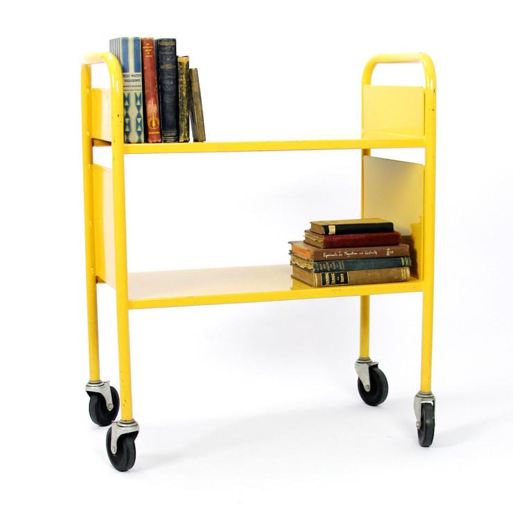 Library Book Cart - Book Cart PNG