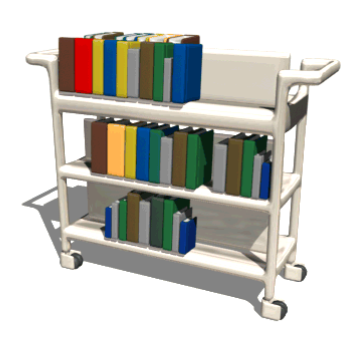 Weu0027re looking for two new Library Pages. - Book Cart PNG