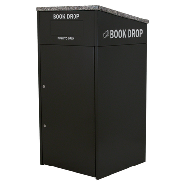 M810 Interior with Book Truck - Book Drop PNG