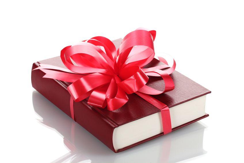 . PlusPng.com Book-as-a-gift.jpg PlusPng.com  - Book Gift PNG