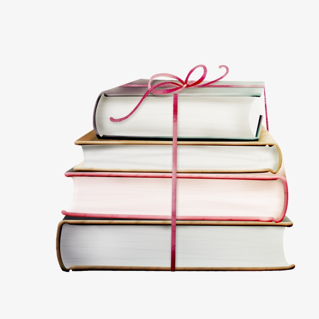 Book, Pile Of Books, Gift PNG Image And Clipart - Book Gift PNG