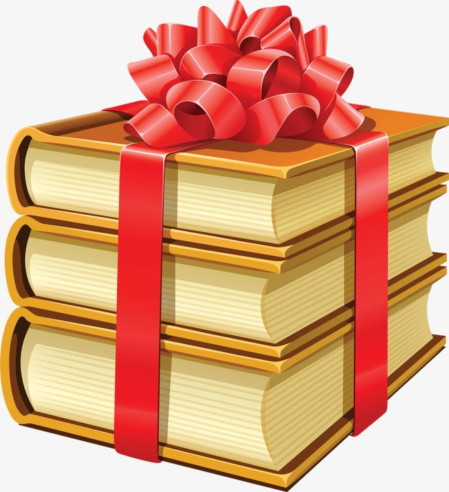 Gift Books, Cartoon, Book, Books Free PNG Image - Book Gift PNG
