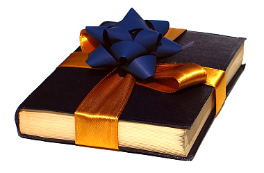 We Are All Thinking About Appropriate Business Holiday Gifts. - Book Gift PNG