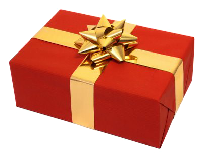 Wrapped-Present Free-signup - Book Gift PNG