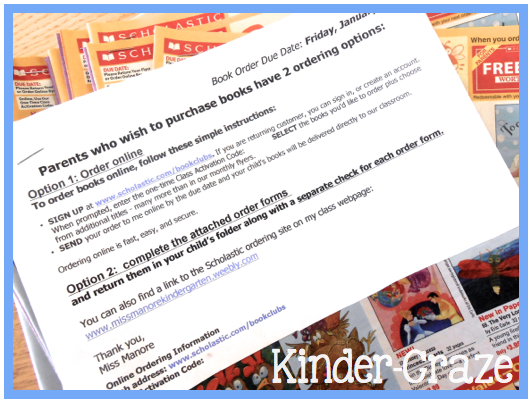 how to get more bonus pints from Scholastic book clubs - Book Order PNG