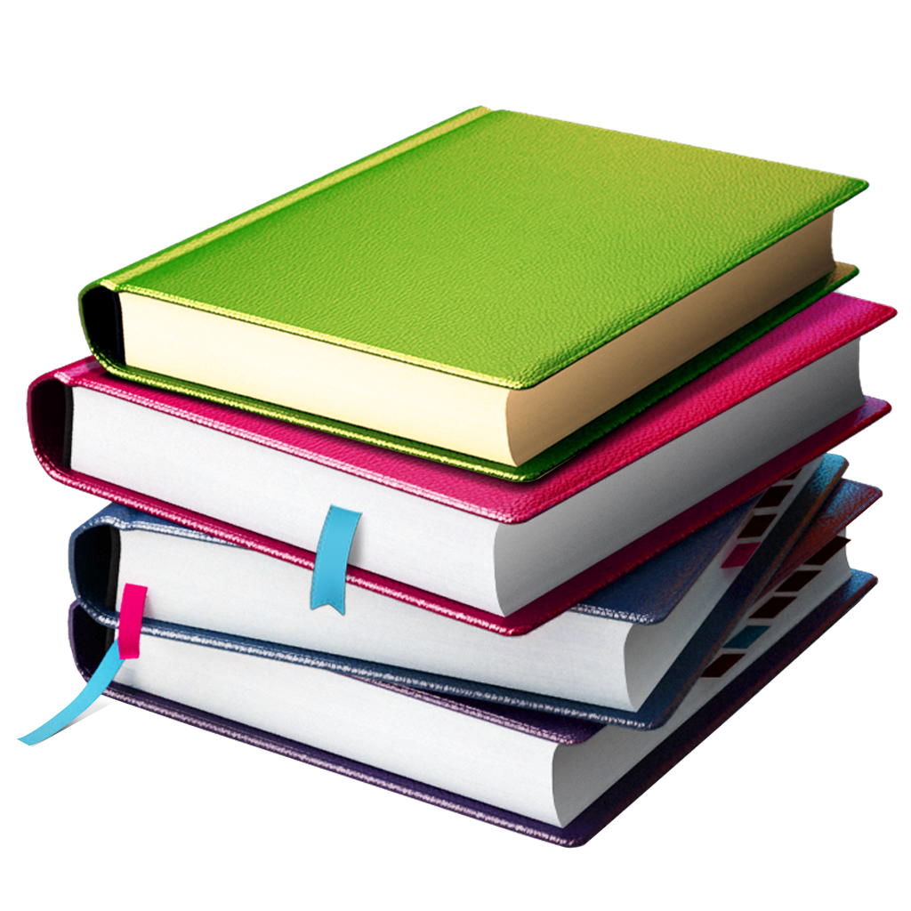 Book Stack Png image #25686