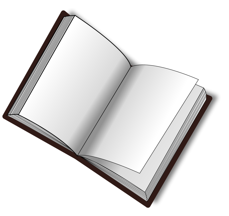 open book PNG image
