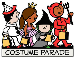 Children dress in fancy dress in a parade - Book Week Parade PNG