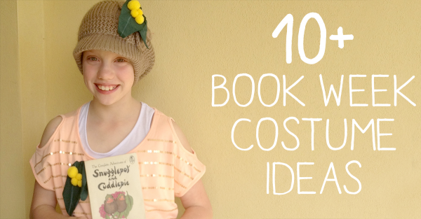 {The Organised Housewife} Book Week Costume Ideas - Book Week Parade PNG