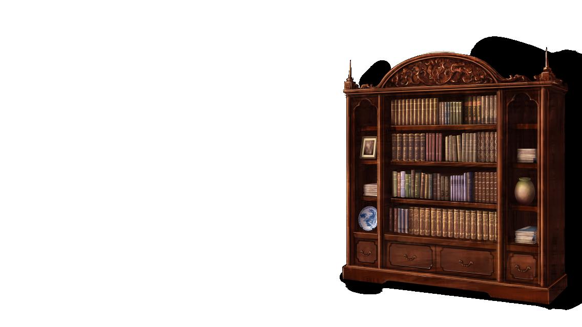 Bookshelf PNG HD - 120673
