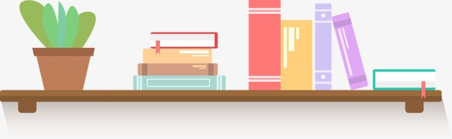 Bookshelf PNG HD - 120670