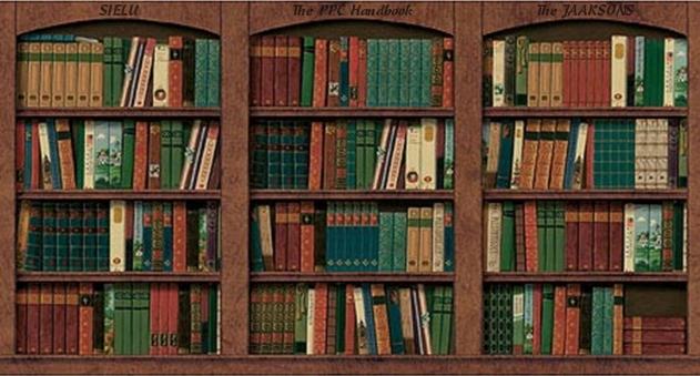 Bookshelf PNG HD - 120668