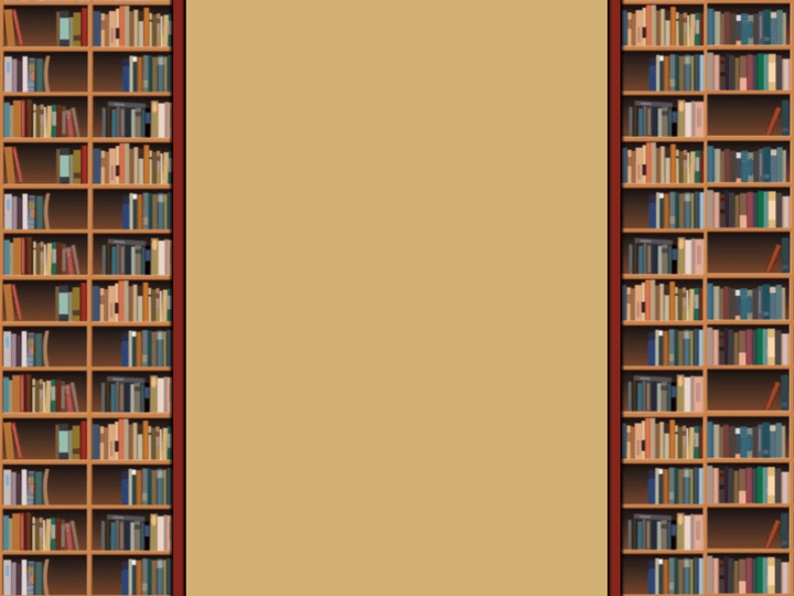 Bookshelf PNG HD - 120666