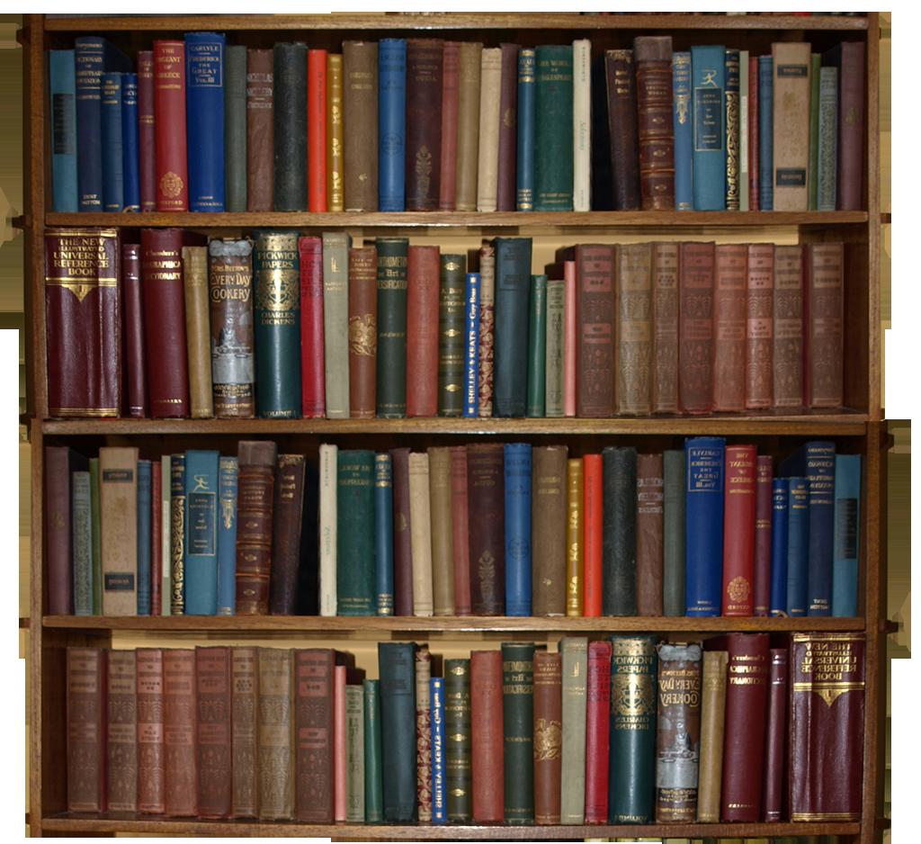 Bookshelf PNG HD - 120663
