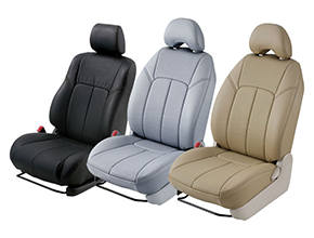 Stitched Seat Covers - Booster Seat PNG