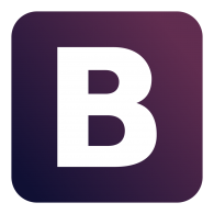 Logo Of Bootstrap Framework - Bootstrap Logo PNG
