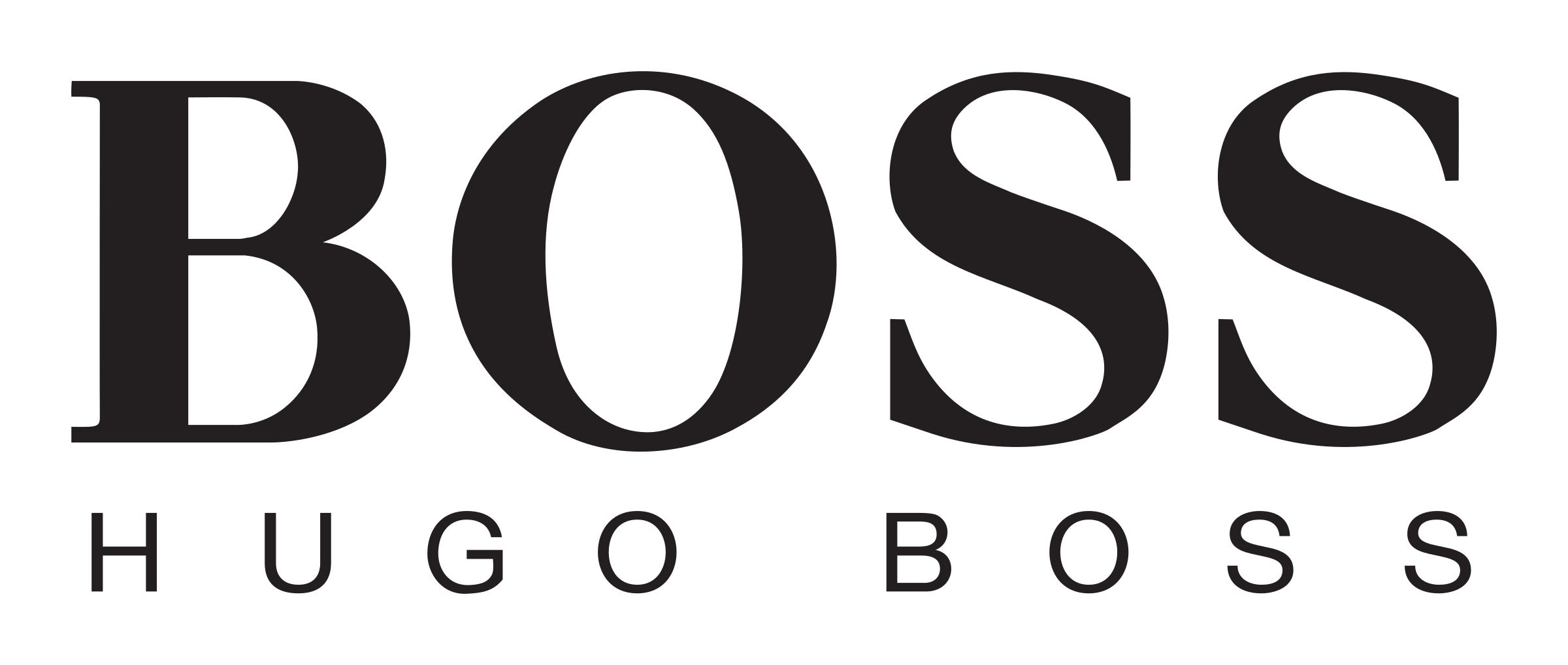 Hugo Boss Logo Png Transparent - Boss PNG Black And White