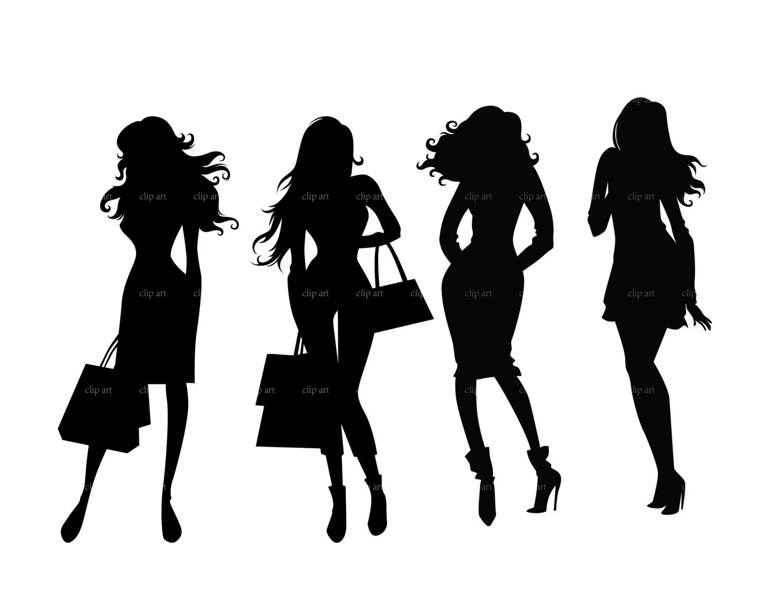 Lady Boss Silhouette - Google Search - Boss PNG Black And White