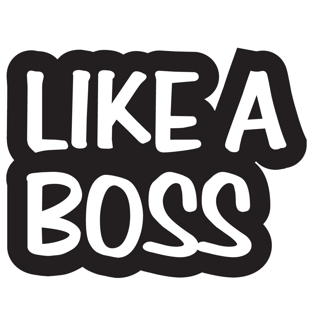 Like A Boss PNG Image - Boss PNG Black And White