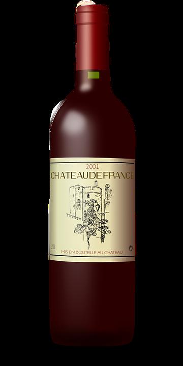 Bordeaux, Bottle, Wine, France, Alcohol, Beverage - Bottle HD PNG