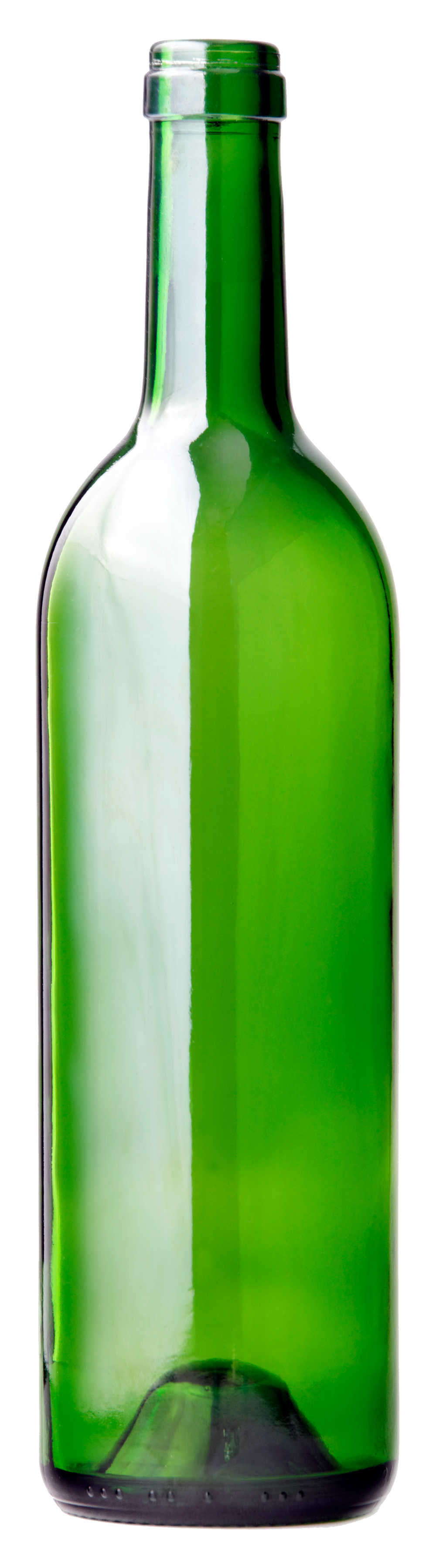 Glass green bottle PNG image - Bottle PNG