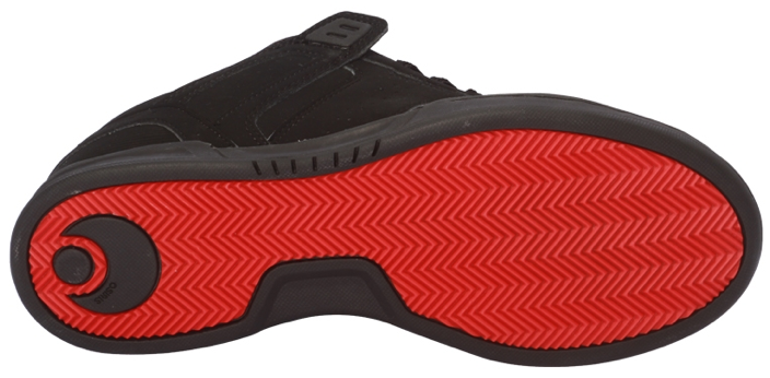 Osiris Vegan Skate Shoe sole - Bottom Of Shoe PNG