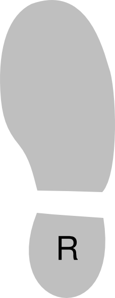 Shoe Right clip art - Bottom Of Shoe PNG