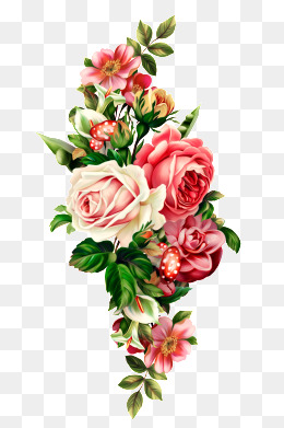 Bouquet Of Roses PNG HD - 142837