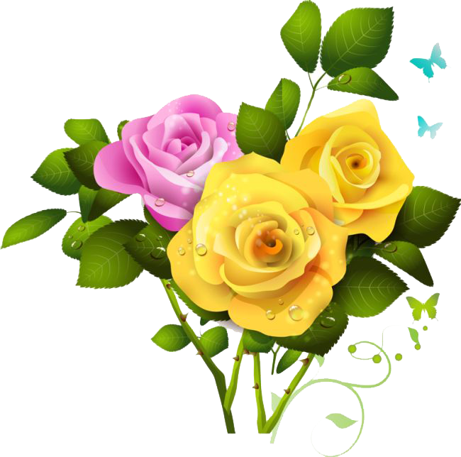Bouquet Of Roses PNG HD - 142842